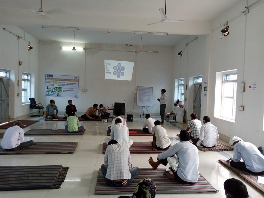 Training of Frontline Workers on Water Sanitation and Health (WASH) held in Sapotara, Karauli