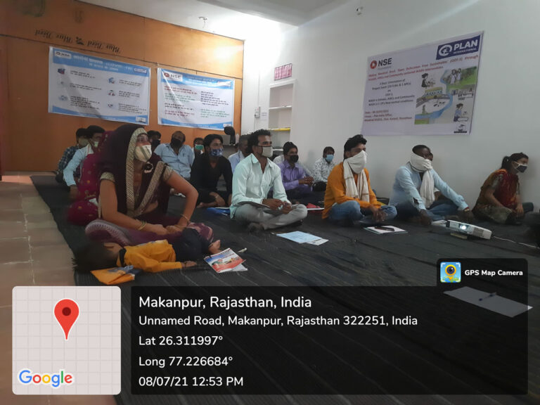 Training of Shiksha Mitras on Special Learning Package in Mandrail