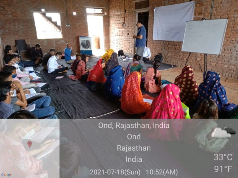 Training of Frontline Workers on Water, Sanitation and Health (WASH)