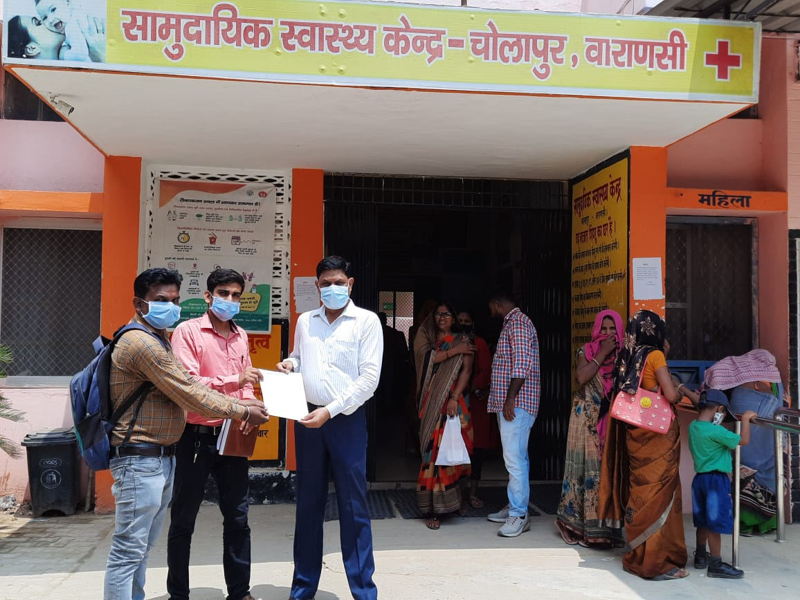 Prayatn's Efforts appreciated by Health Department in Varanasi