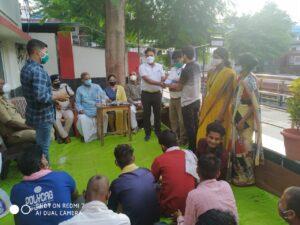 Prayatn's Child Help Desk appreciated by CWC, Chandauli